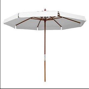 Ombrelone bagum para locação com mesas