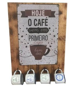 Painel xícara de café