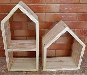 Kit 2 Nichos montessoriano casinha ou retangulo
