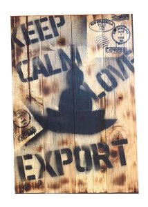 Painel decorativo keep calm