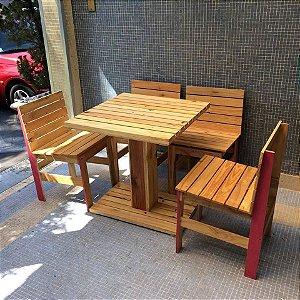 Mesa e cadeiras para restaurante - venda ou locação