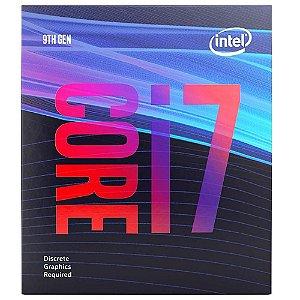 Processador Intel Core i7-9700F Coffee Lake, Cache 12MB, 3.0GHZ (4.7GHz Max Turbo), LGA 1151