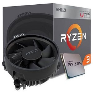 Processador AMD Ryzen 3 3200G Cache 4 MB 3.6GHz  ( 4.0GHz Max Turbo ) AM4