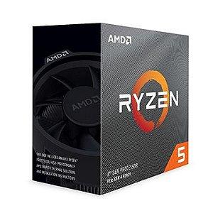 Processador AMD Ryzen 5 3600 Cache 32MB 3.6GHz (4.2GHz Max Turbo) AM4