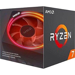 Processador AMD Ryzen 7 3700X Cache 32MB 3.6GHz (4.6GHz Max Turbo) AM4