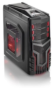 Gabinete Gamer Sem Fonte Cooler Com Led Multilaser