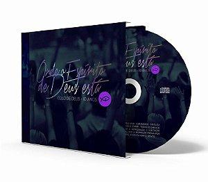 CD Onde o Espírito de Deus está - Colo de Deus 10 anos