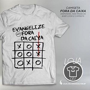 Camiseta Fora da Caixa