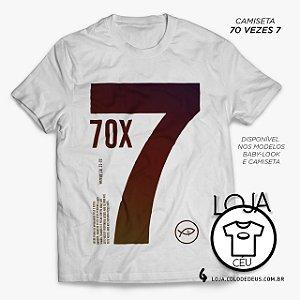 Camiseta 70 vezes 7