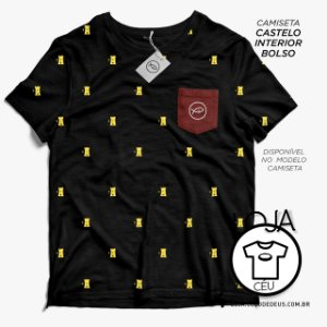 Camiseta Castelo Interior