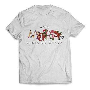 Camiseta Ave Maria Floral I