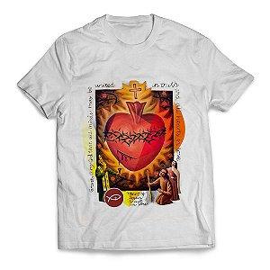 Camiseta Sagrado Coração de Jesus / Sacred Heart of Jesus