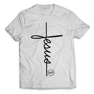 Camiseta Jesus Lettering