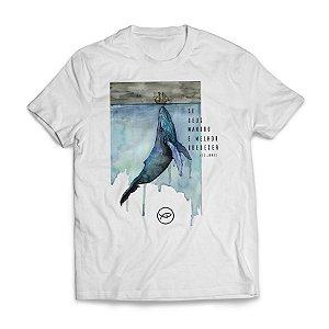 Camiseta JONAS E A BALEIA - Se Deus mandou é melhor Obedecer