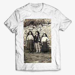 Camiseta os três Pastorinhos de Fátima