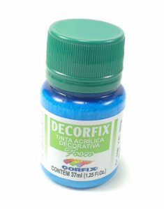 Tinta Acrílica DECORFIX - Fosca - 37 ml. - Azul Celeste