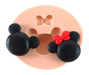 130 - Mickey e Minie médios
