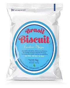 Massa Brasil Biscuit - 1K. branco