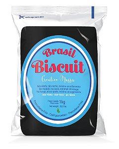 Massa Brasil Biscuit - 1K. preto