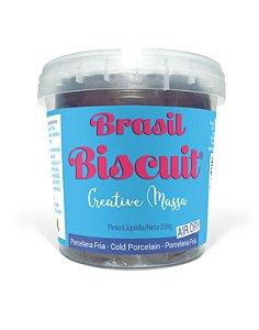 Massa Brasil Biscuit - 250 gramas Chocolate