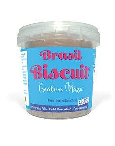Massa Brasil Biscuit - 250 gramas Pele Morena
