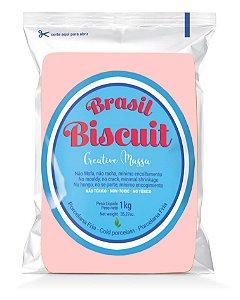 Massa Brasil Biscuit - 1K. salmão