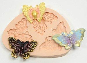 275 - 3 borboletas bijoux