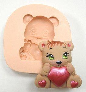 272 - Urso com coração