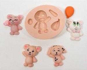 434 - Ursinho com balão