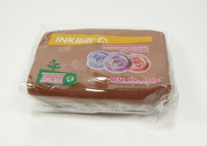 MASSA INKWAY - marrom chocolate - 400 gr.