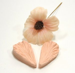 508 - Pétala de flor 3D