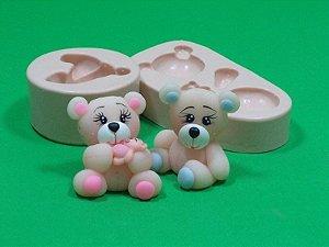 912 - Urso e Ursa 3D