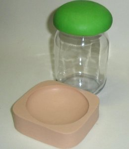 742 - Forra tampa de potes - 250 ml.