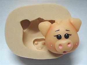 820 - Cara de porco country médio