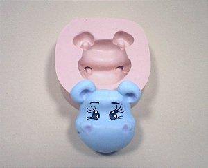 950 - Cara de Hipopótamo grande