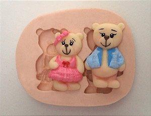 255 - Ursinho e Ursinha mini