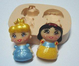 798 - Princesas meninas Branca de Neve e Cinderela