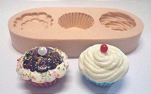 890 - Cupcake 3D Médio