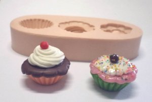 892 - Cupcake 3D Pequeno
