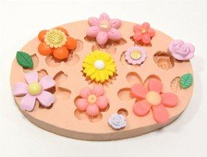 537 - 10 lindas flores