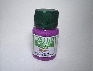 Tinta Acrílica DECORFIX - Fosca - 37 ml. - Magenta