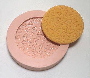 369 - Forra Cupcake Coração