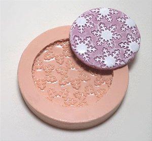 371 - Forra Cupcake Floco de Neve