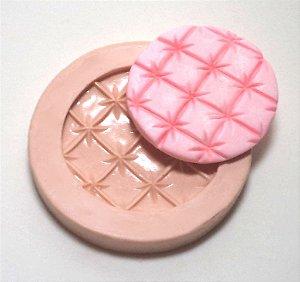 378 - Forra Cupcake Quadrado com marcação