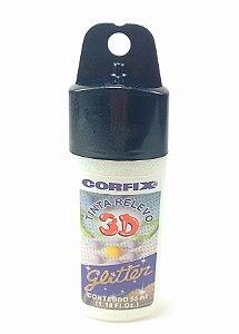 Tinta Relevo Glitter 35 ml - Corfix - Cristal