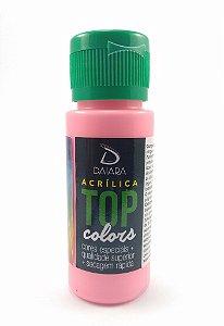 Tinta Acrílica Fosco 60 ml - Daiara - Rosa Boneca