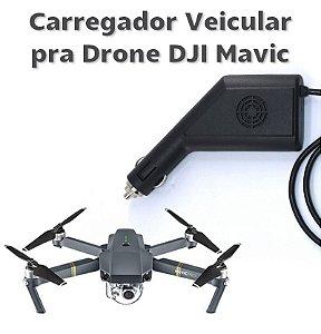 Carregador Veicular Para Drone DJI Mavic Pro