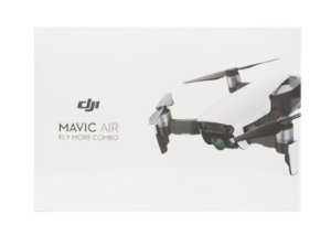 Drone DJI Mavic Air Combo Fly More com ANATEL - Branco