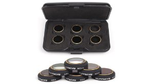 Kit de Filtros para Câmera de Drone DJI Mavic Pro (6 Peças)