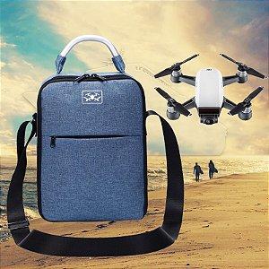 Bolsa Cor Jeans para Drone DJI Spark
